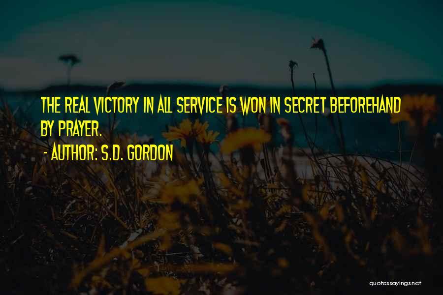 S.D. Gordon Quotes 921061