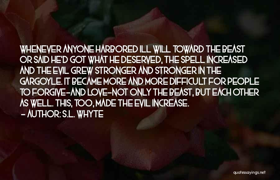 S.L. Whyte Quotes 477416