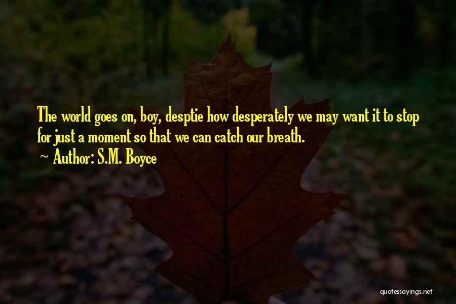 S.M. Boyce Quotes 488277