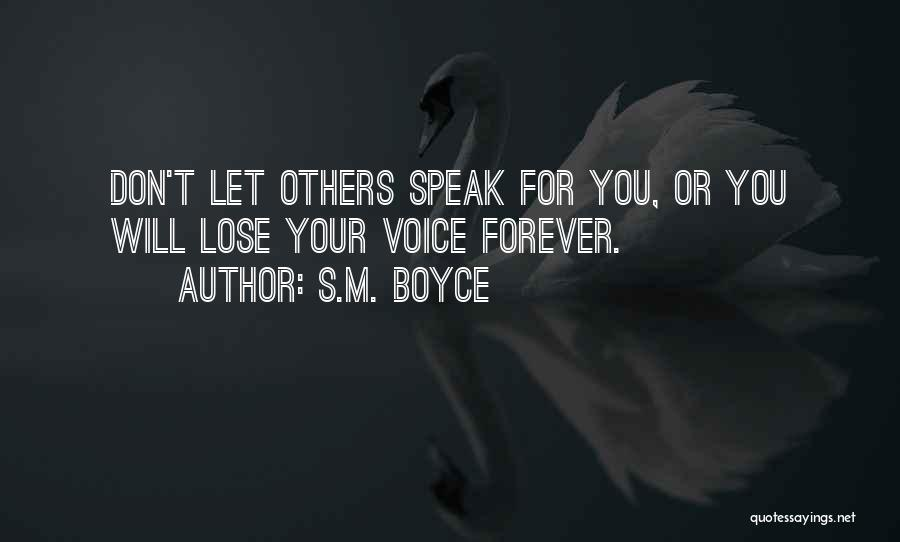 S.M. Boyce Quotes 896520