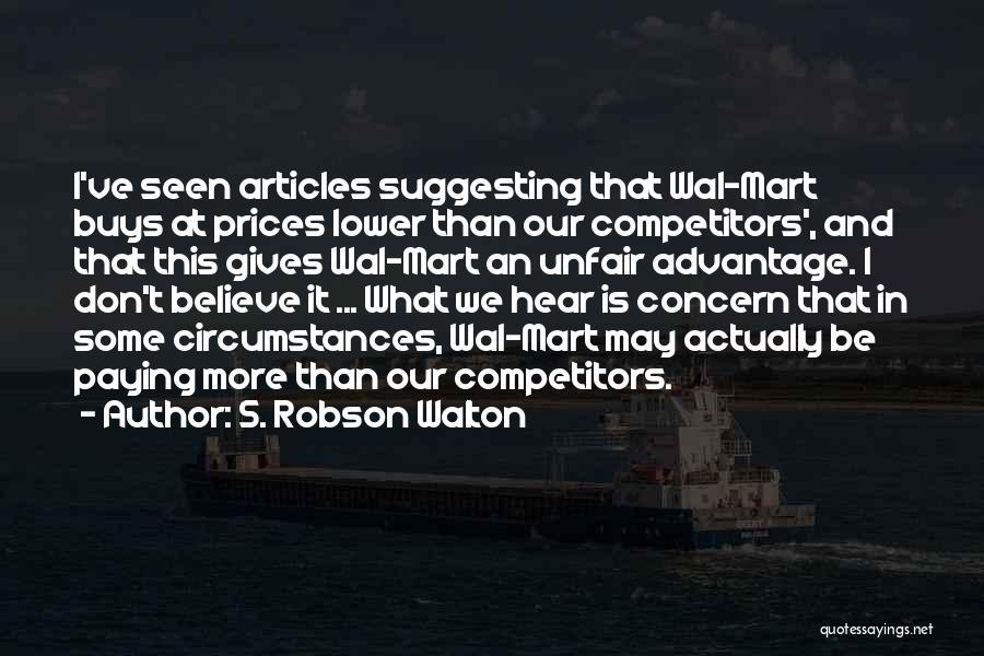 S. Robson Walton Quotes 732745