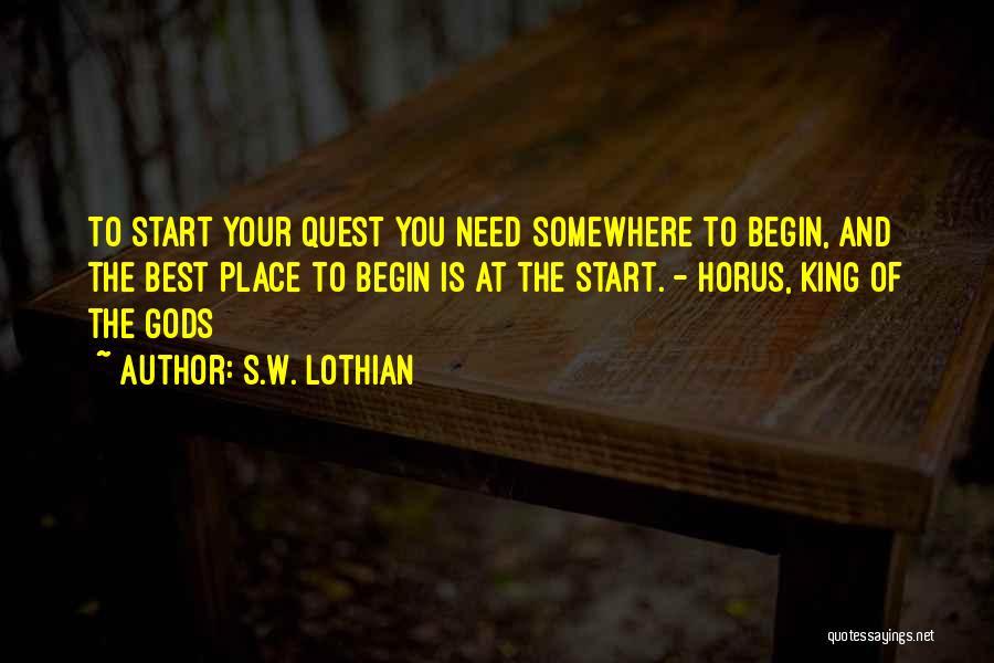 S.W. Lothian Quotes 637713