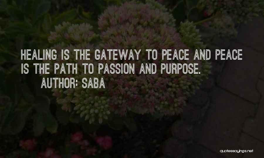 Saba Quotes 957113