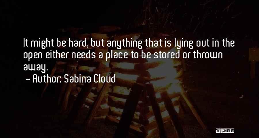 Sabina Cloud Quotes 850273