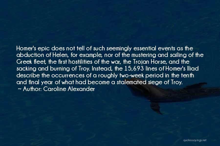 Sacking Quotes By Caroline Alexander