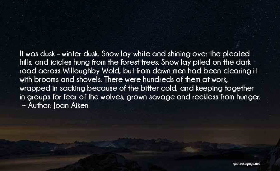 Sacking Quotes By Joan Aiken