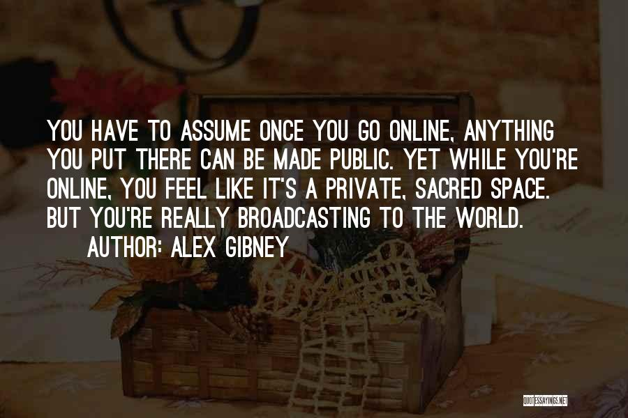 Sacred Quotes By Alex Gibney