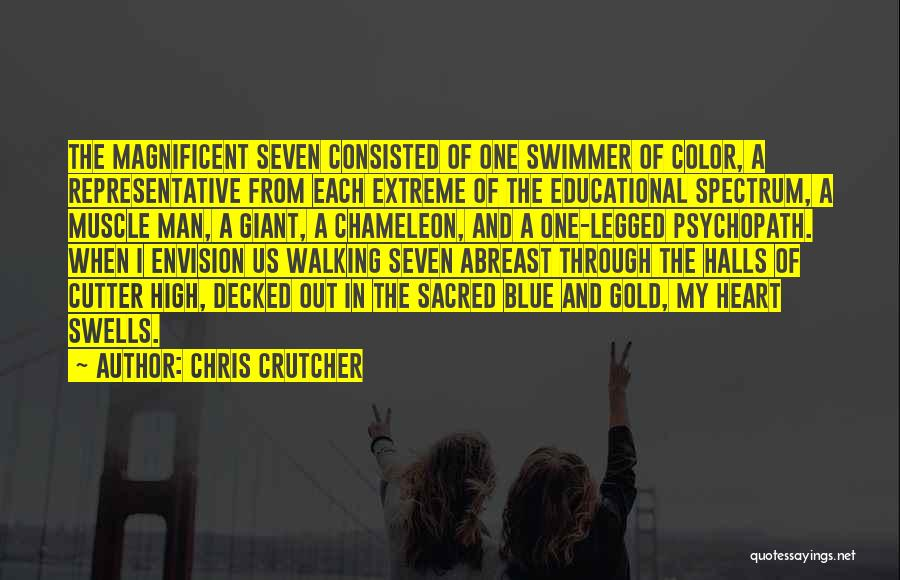 Sacred Quotes By Chris Crutcher
