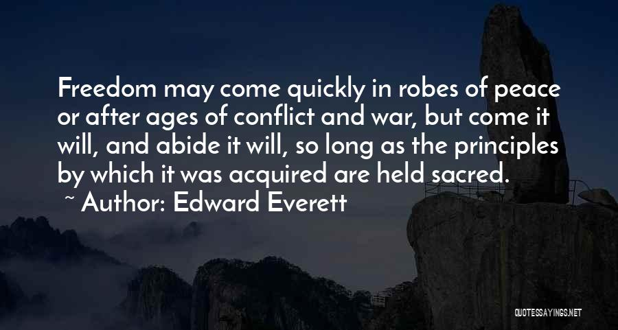 Sacred Quotes By Edward Everett