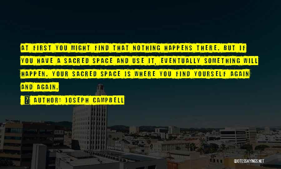 Sacred Quotes By Joseph Campbell