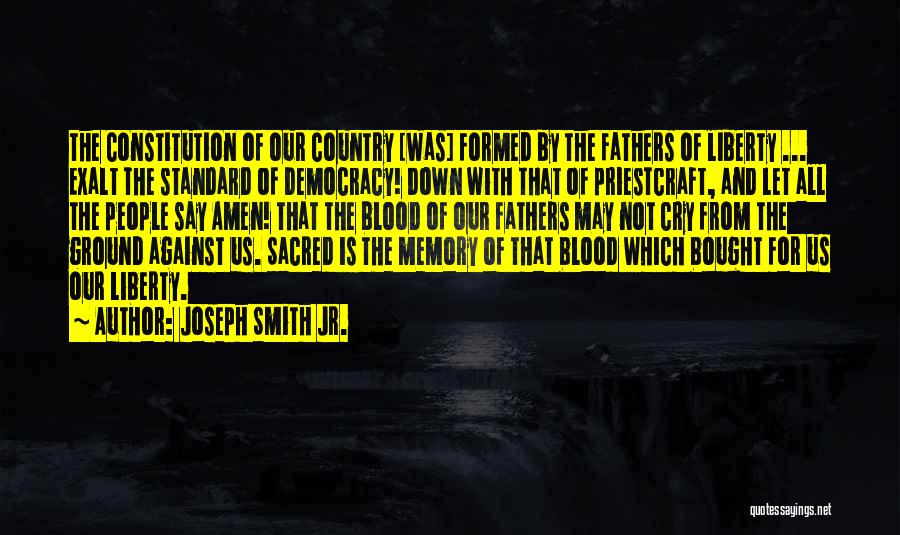 Sacred Quotes By Joseph Smith Jr.