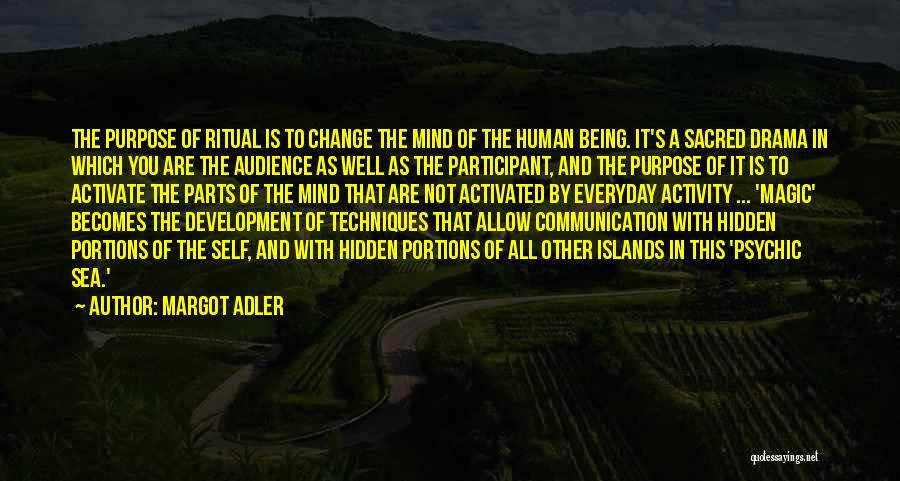 Sacred Quotes By Margot Adler