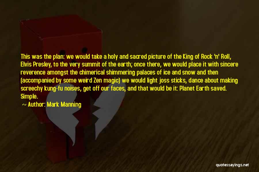 Sacred Quotes By Mark Manning