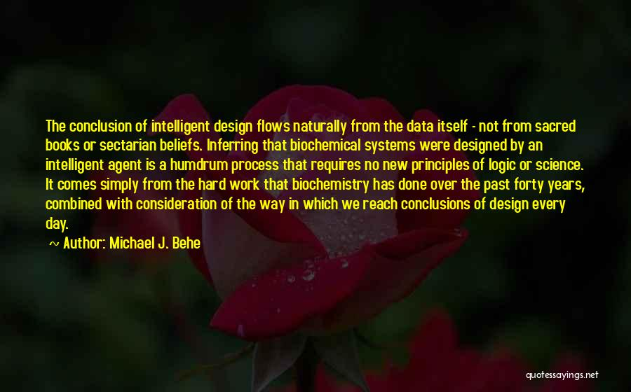 Sacred Quotes By Michael J. Behe