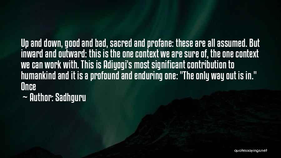 Sacred Quotes By Sadhguru