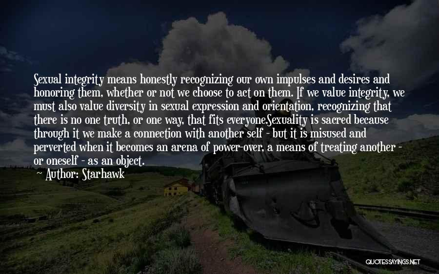 Sacred Quotes By Starhawk