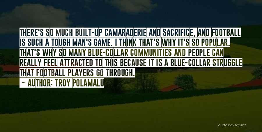Sacrifice And Struggle Quotes By Troy Polamalu