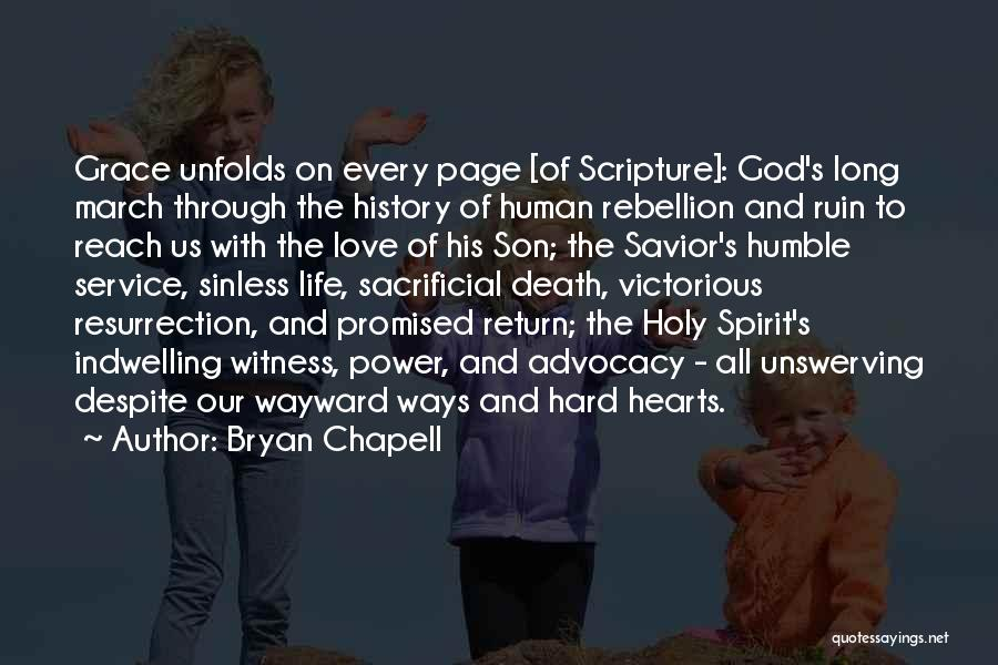 Sacrificial Service Quotes By Bryan Chapell