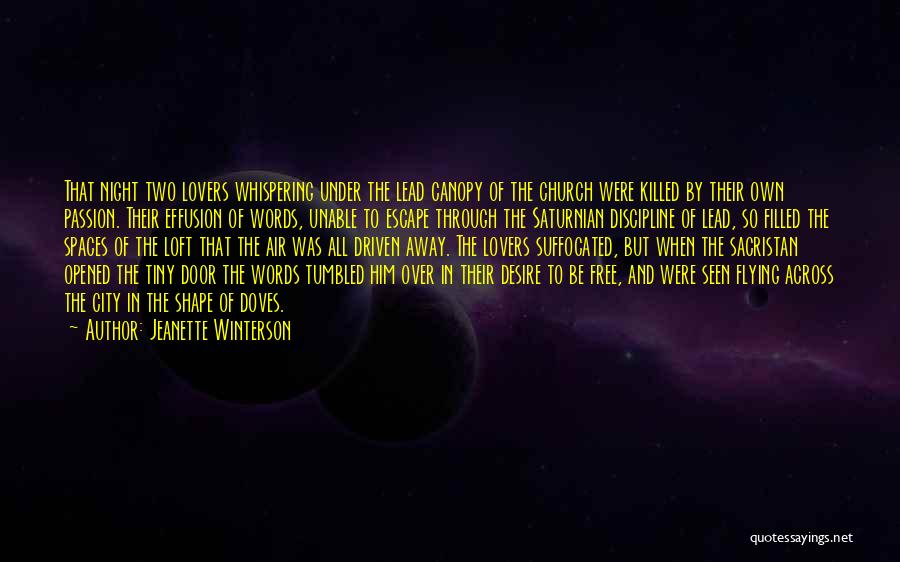 Sacristan Quotes By Jeanette Winterson