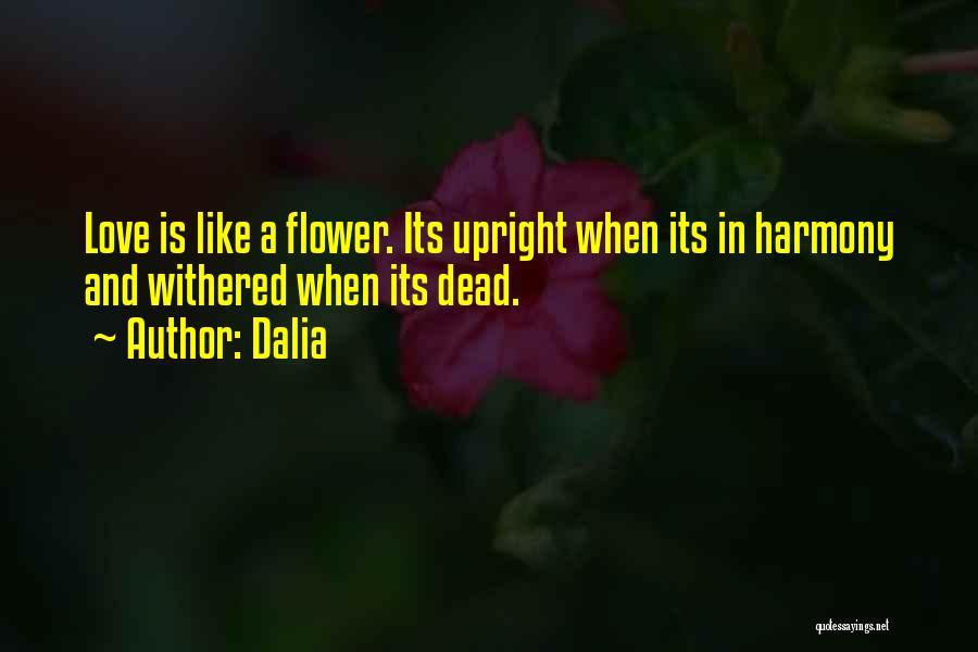 Sad And Happy Love Quotes By Dalia
