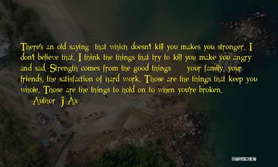 Top 3 Sad Broken Family Quotes & Sayings