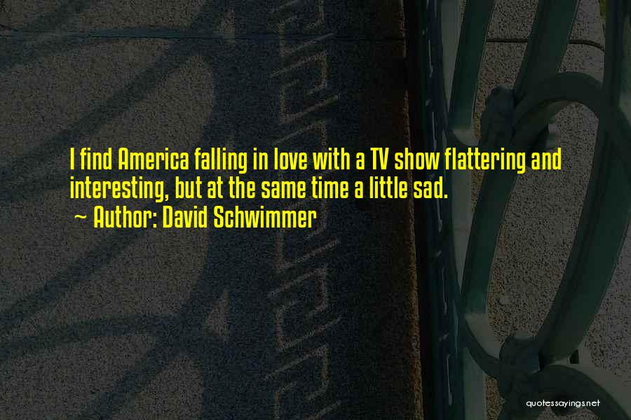 Sad But Interesting Quotes By David Schwimmer
