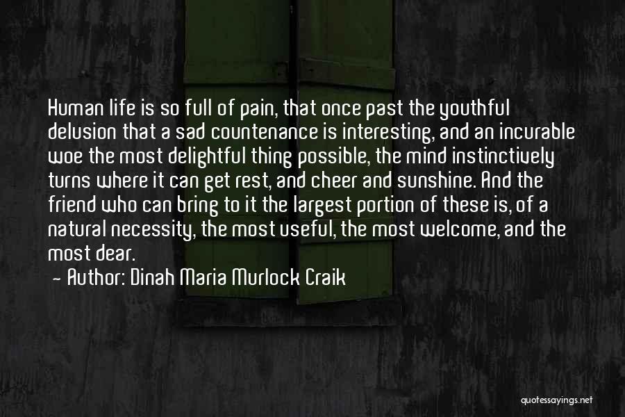 Sad But Interesting Quotes By Dinah Maria Murlock Craik