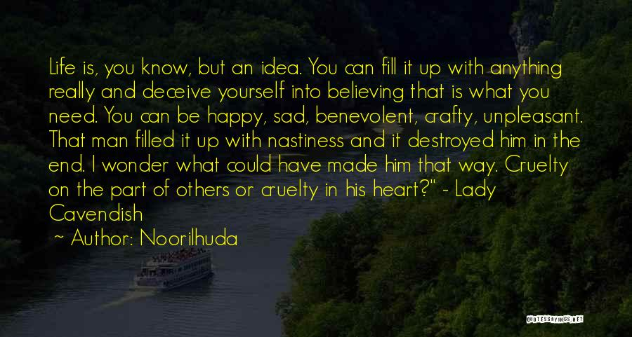 Sad Destroyed Quotes By Noorilhuda