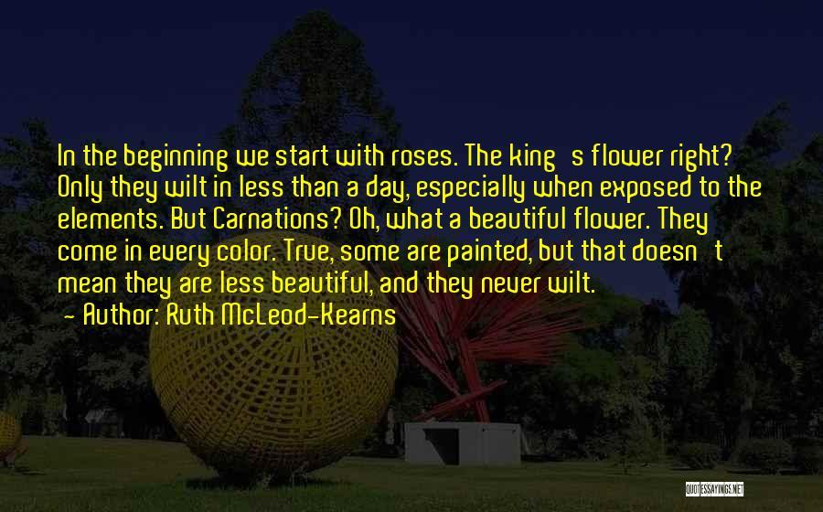 Sad Love Short Quotes By Ruth McLeod-Kearns