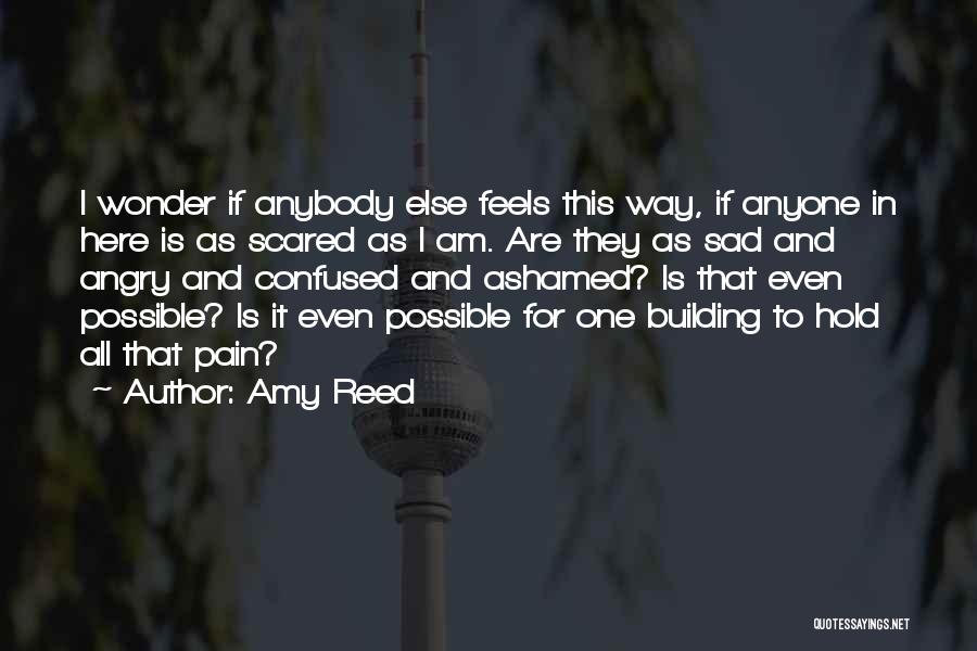 Sad Quotes By Amy Reed