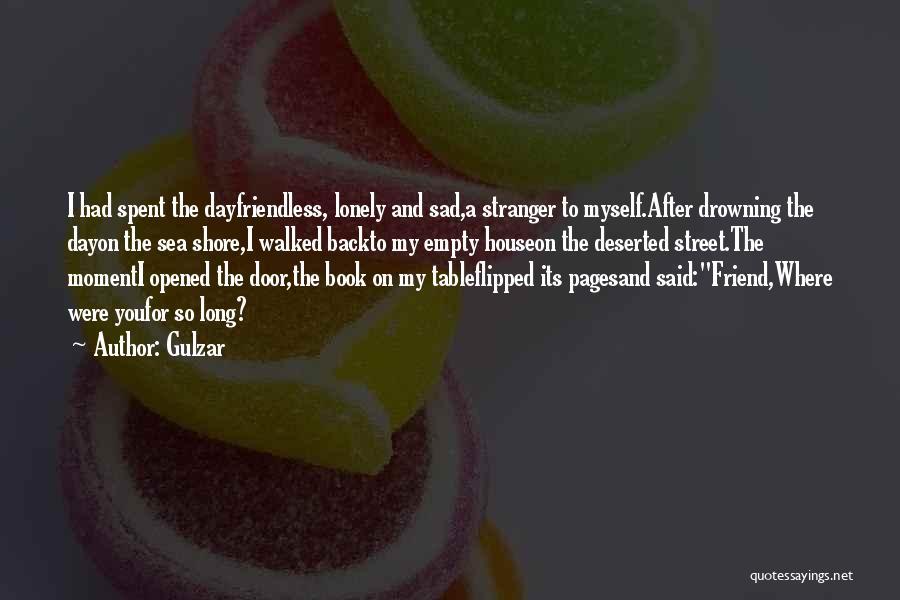 Sad Quotes By Gulzar