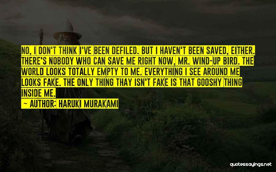 Sad Quotes By Haruki Murakami