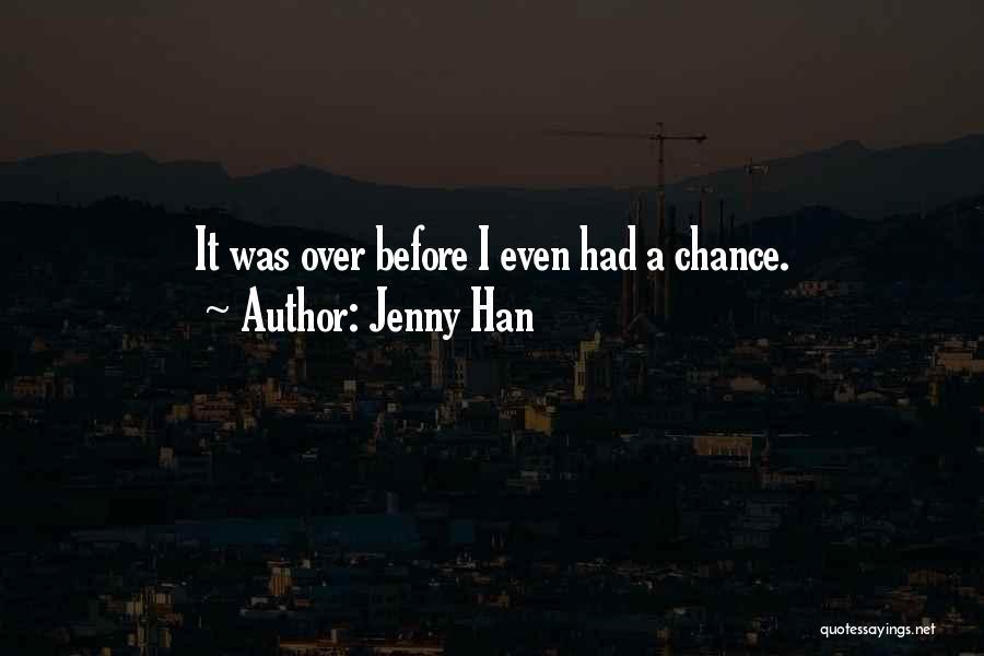 Sad Quotes By Jenny Han
