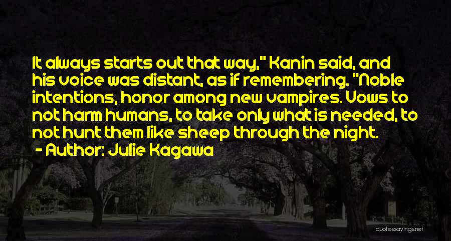 Sad Quotes By Julie Kagawa