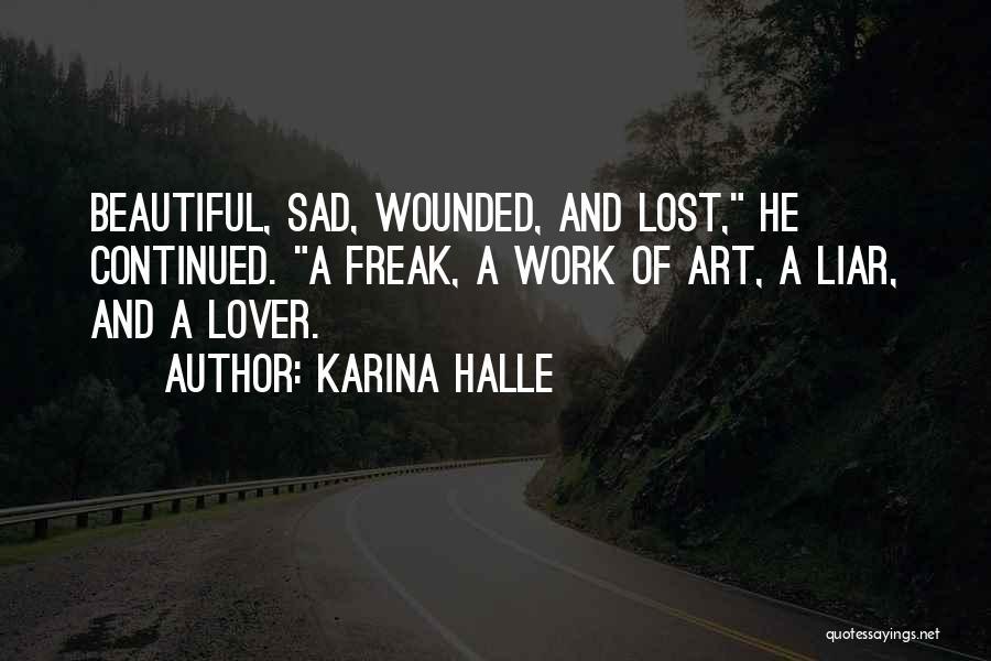 Sad Quotes By Karina Halle