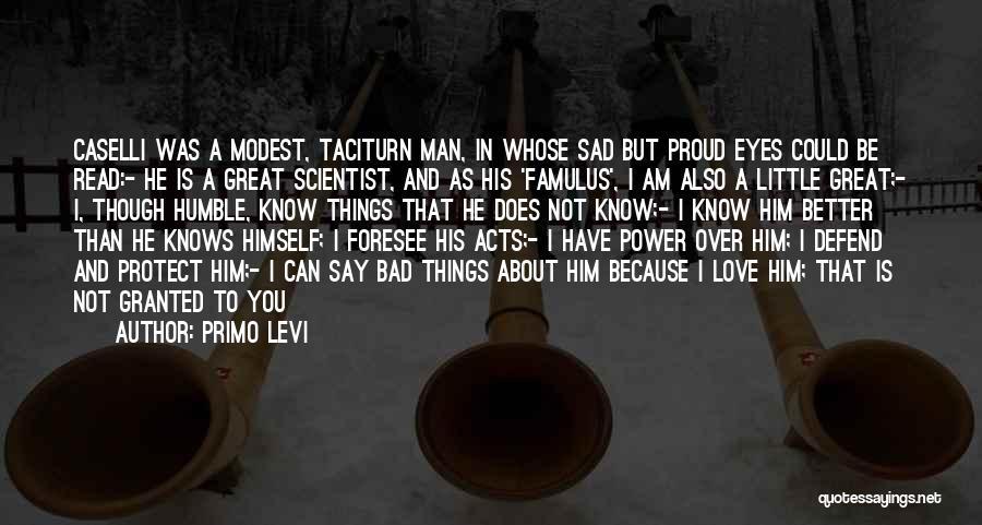 Sad Quotes By Primo Levi