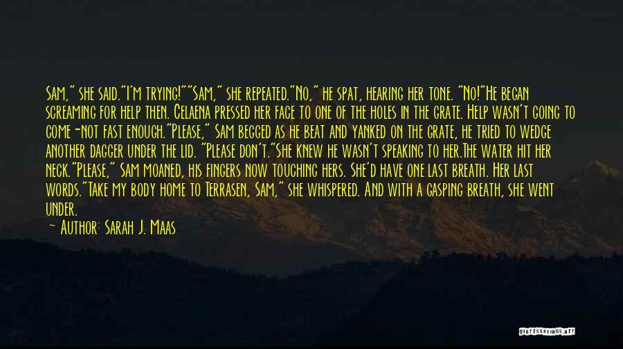 Sad Quotes By Sarah J. Maas