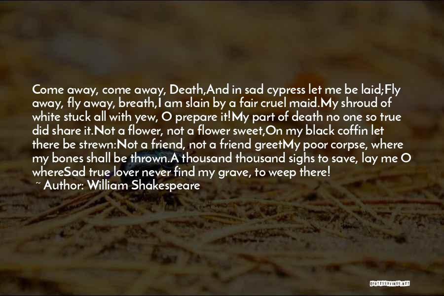 Sad Quotes By William Shakespeare