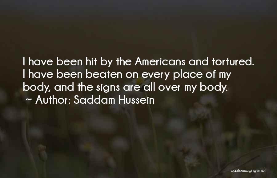 Saddam Hussein Quotes 1085344