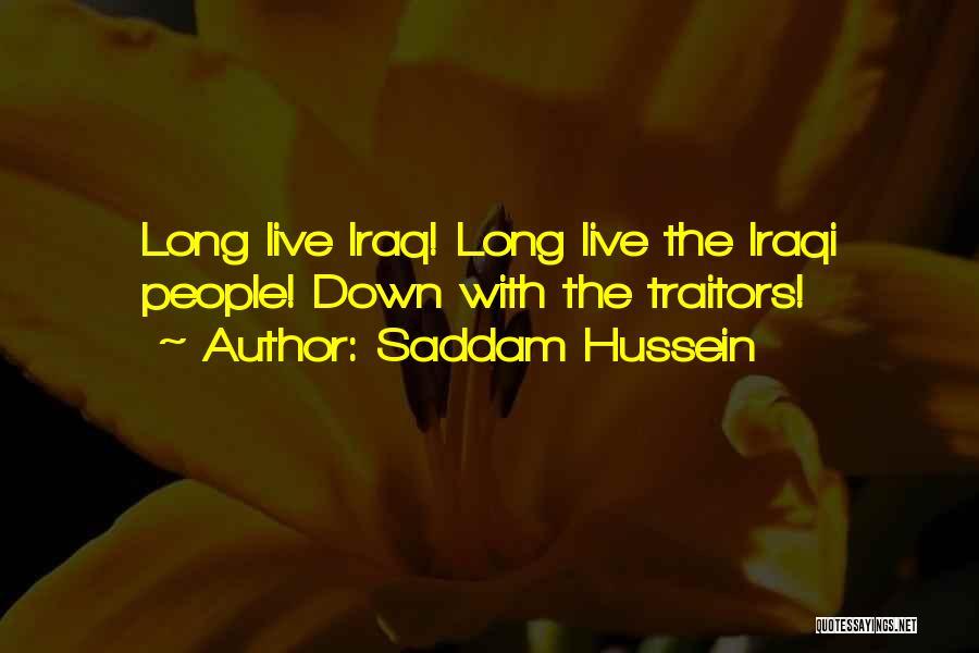 Saddam Hussein Quotes 1131203