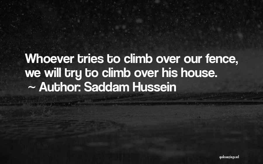 Saddam Hussein Quotes 118598