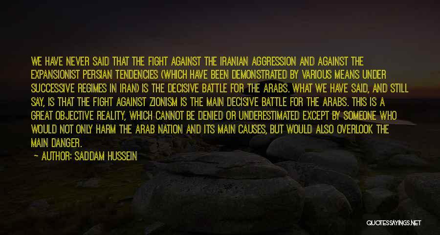 Saddam Hussein Quotes 1382973