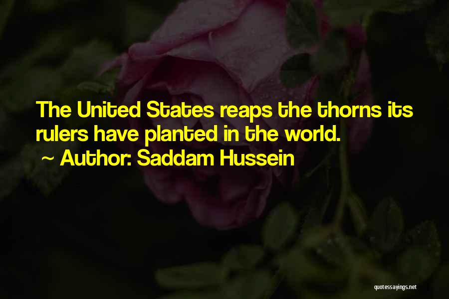 Saddam Hussein Quotes 1438205