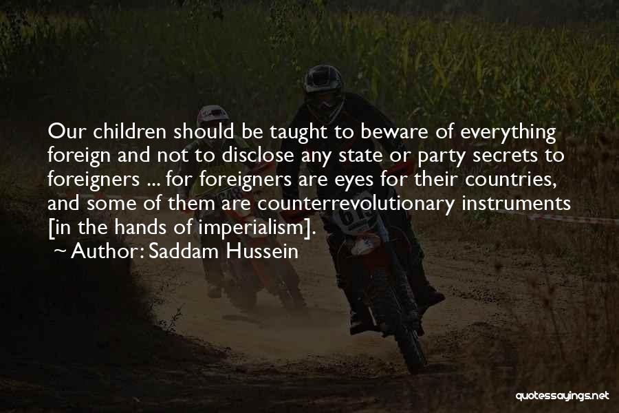 Saddam Hussein Quotes 1554040