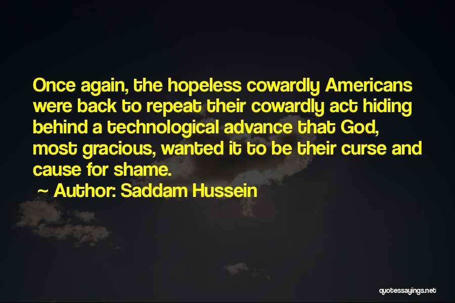 Saddam Hussein Quotes 2007943