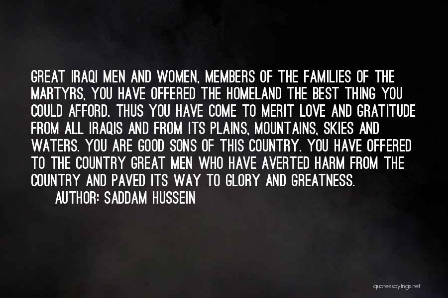 Saddam Hussein Quotes 2030502