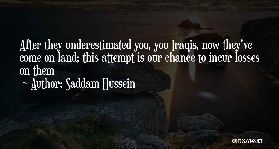Saddam Hussein Quotes 2043968