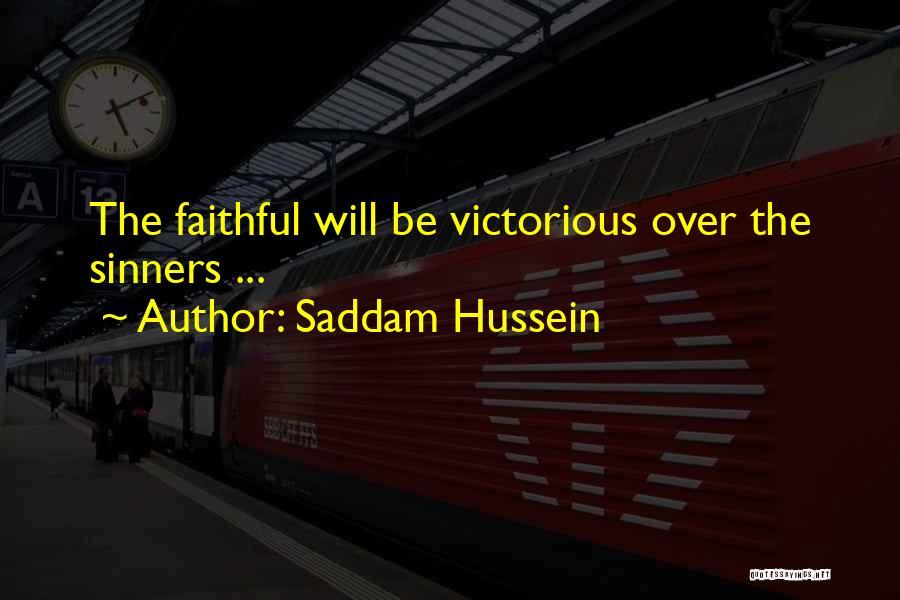 Saddam Hussein Quotes 2051939
