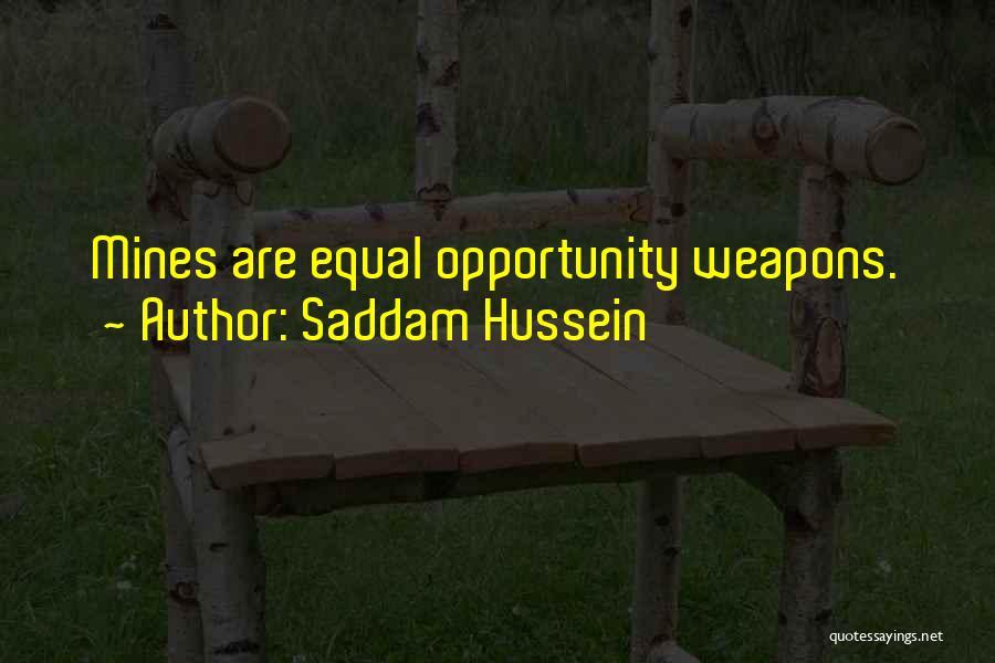 Saddam Hussein Quotes 492169