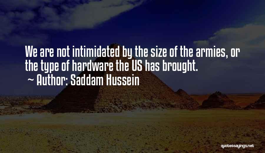 Saddam Hussein Quotes 645770